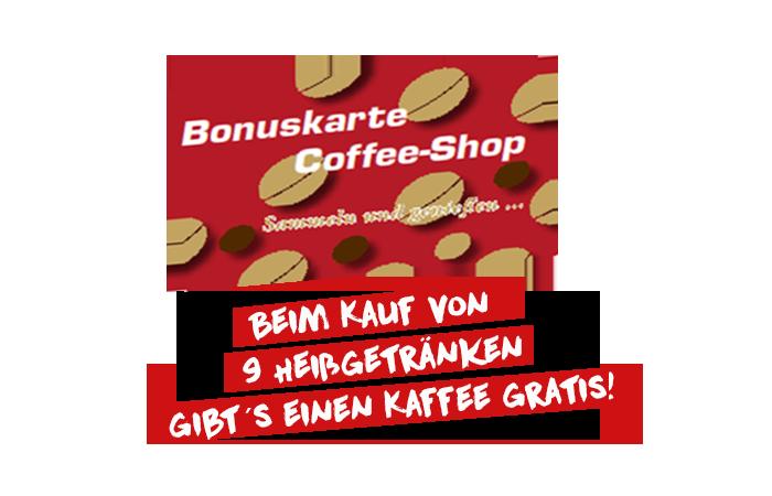 Bonuskarte für Kaffeeshop | Autohaus Mayer-Tuerkheim