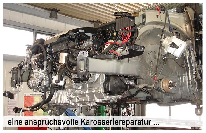 Motorreparaturen im Autohaus Mayer-Tuerkheim